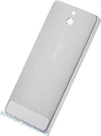 Nokia 515 Akkudeckel / Rückteil weiss