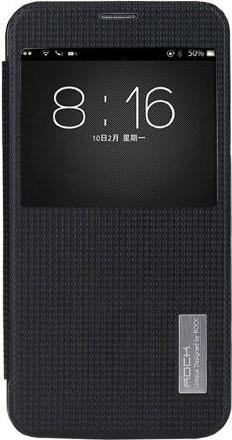Galaxy S5 Flip Case (Klapp Tasche Buch) schwarz