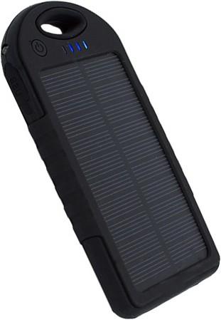 Solar PowerBank Not Akku Mikro USB Anschluss