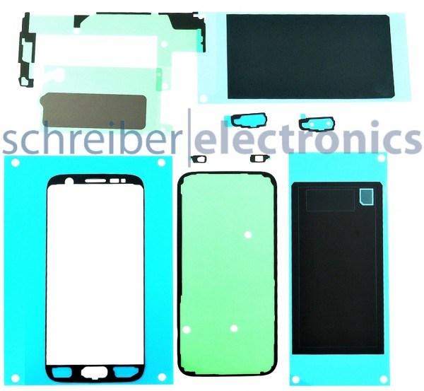 Samsung G930 Galaxy S7 Klebe-Folie-Set Service Kit