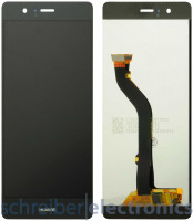 Huawei P8 lite 2017 Displayeinheit mit Touchscreen schwarz