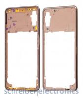 Samsung A750 Galaxy A7 (2018) Mittelgehäuse gold