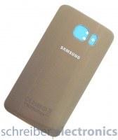 Samsung G920 Galaxy S6 Akkudeckel / Rückseite gold