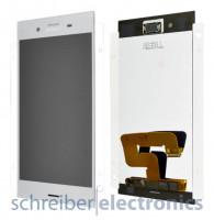 Sony Xperia XZ1 Display mit Touchscreen silber