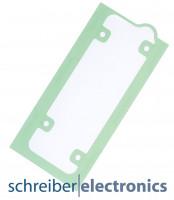 Samsung G930 Galaxy S7 Klebefolie / Dichtung für Akku (Batterie)