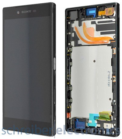 Sony Xperia Z5 premium Displayeinheit schwarz