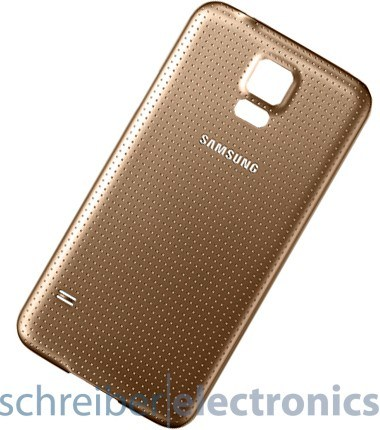 Samsung G900 Galaxy S5 Akkudeckel gold