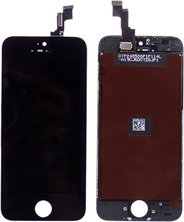 iPhone 5S / SE Display mit Touchscreen (Scheibe) schwarz