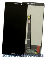 Huawei Mate 9 Display Ohne Rahmen schwarz
