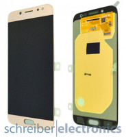 Samsung J730F / DS Galaxy J7 (2017) Display mit Touchscreen gold