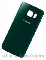 Samsung G925 Galaxy S6 edge Akkudeckel / Rückseite grün