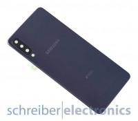 Samsung A750 Galaxy A7 (2018) DUOS Akkudeckel (Rückseite) schwarz