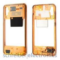 Samsung A505 Galaxy A50 Mittelgehäuse (Rahmen) korall