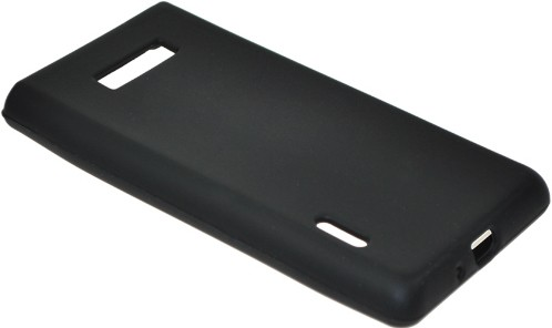 LG P700 Silikon-Hülle / Tasche schwarz
