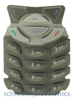Original Nokia 6310 - 6310i Tastatur silber