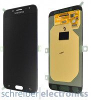 Samsung J730F / DS Galaxy J7 (2017) Display mit Touchscreen schwarz