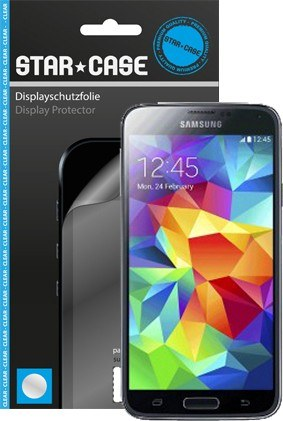 Display Schutzfolie Star-Case Clear Galaxy S5 mini