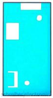 Sony Xperia XZ1 Klebefolie (Kleber Dichtung) Display