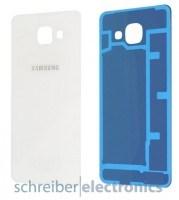Samsung A310 Galaxy A3 (2016) Akkudeckel weiss