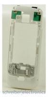 Nokia C5-00 Mittelgehäuse Backcover weiss