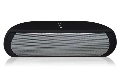 Bluetooth Desktop Lautsprecher schwarz