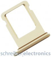 Apple iPhone 7 Simkartenhalter Halterung gold