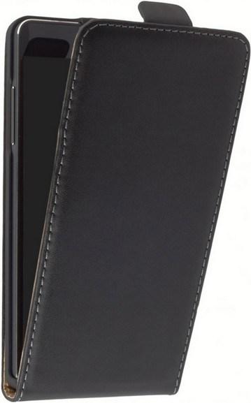 Galaxy S5 active Klapp-Tasche (Flip-Case) schwarz