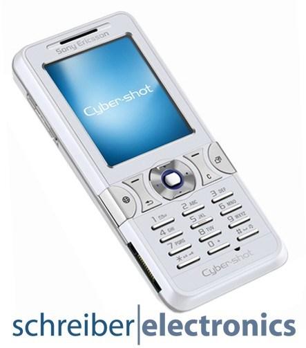 Sony Ericsson K550i Handy weiss
