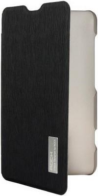 Lumia 625 Flip Case (Klapp Tasche Buch) schwarz