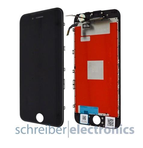 iPhone 6S Display Einheit mit Touchscreen in schwarz