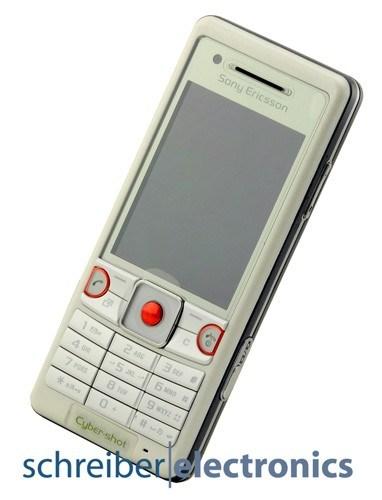 Sony Ericsson C510 Handy silber