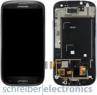 Samsung i9300 Galaxy S3 TouchScreen mit Display & Rahmen