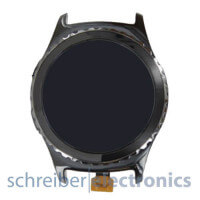Samsung R732 Gear S2 Classic Display mit Touchscreen schwarz