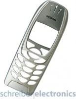 Original Nokia 6310i Cover / Oberschale silber