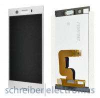 Sony Xperia XZ1 Compact (G8441) Display mit Touchscreen silber