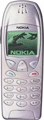 Original Nokia 6210 Cover silber