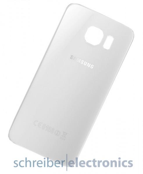 Samsung G920 Akkudeckel / Rückseite weiss