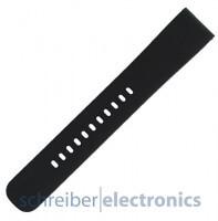 Samsung R600 Gear Sport Armband einteilig / Löcher Seite L schwarz