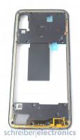 Samsung A405 Galaxy A40 Mittelgehäuse (Rahmen) schwarz