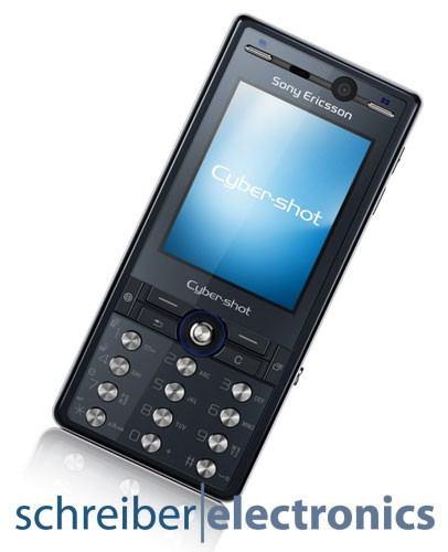 Sony Ericsson K810i Handy blau (Noble Blue)