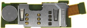 Nokia E52 Simkarten & Speicherkarten-Leser