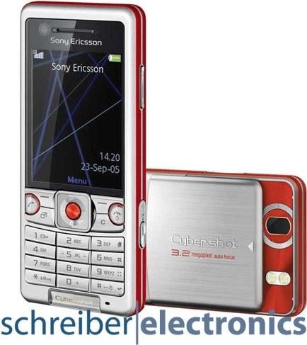 Sony Ericsson C510 energetic red Handy