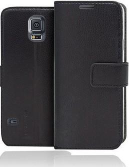 Galaxy S5 mini Flip Case (Klapp Tasche Buch) black