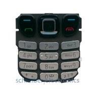 Nokia 6303 classic Tastatur (Tastenmatte) silber