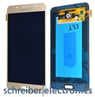 Samsung J710 Galaxy J7 (2016) Display Einheit gold