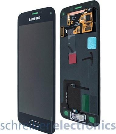 Samsung G800 Display-Einheit + Touchscreen schwarz