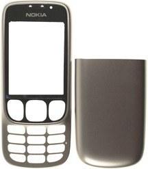 Nokia 6303 classic Cover (Oberschale) silber