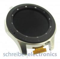 Samsung R800 Gear Watch Display mit Touchscreen silber