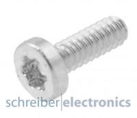 Nokia 6300 Torxschrauben / Ersatz-Schrauben 1.6x4.5 Feingewinde