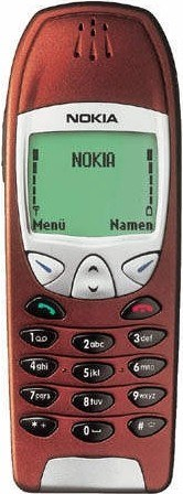 Original Nokia 6210 Cover rot
